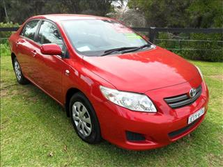 2009  TOYOTA COROLLA ASCENT ZRE152R FWD 4D SEDAN
