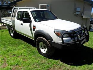 2009  FORD RANGER XL (4x4) PK 4x4 SUPER CAB CHASSIS