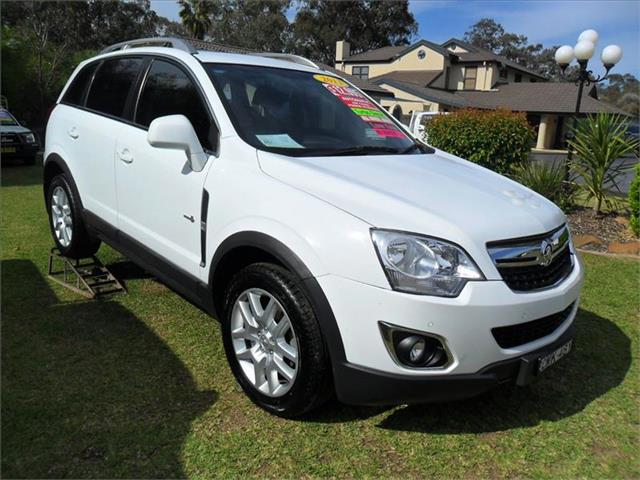 2013  HOLDEN CAPTIVA 5 (4x4) CG MY12 AWD 4D WAGON