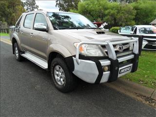 2005  TOYOTA HILUX SR5 (4x4) KUN26R 4x4 DUAL CAB P/UP