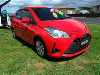 2017  TOYOTA YARIS ASCENT NCP130R MY17 FWD 5D HATCHBACK