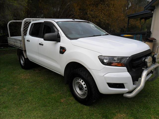 2015 FORD RANGER XL 3.2 (4x4) PX MKII CREW C/CHAS