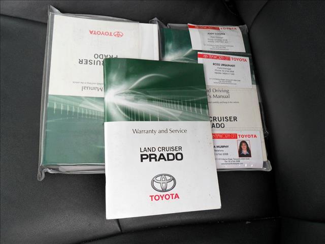 2012 TOYOTA LANDCRUISER PRADO ALTITUDE (4x4) KDJ150R 11 UPGRADE 4D WAGON