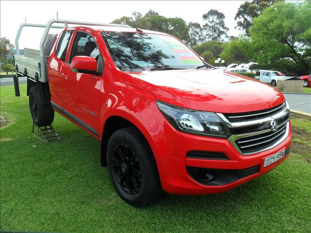 2018 HOLDEN COLORADO LS (4x4) RG MY18 SPACE C/CHAS