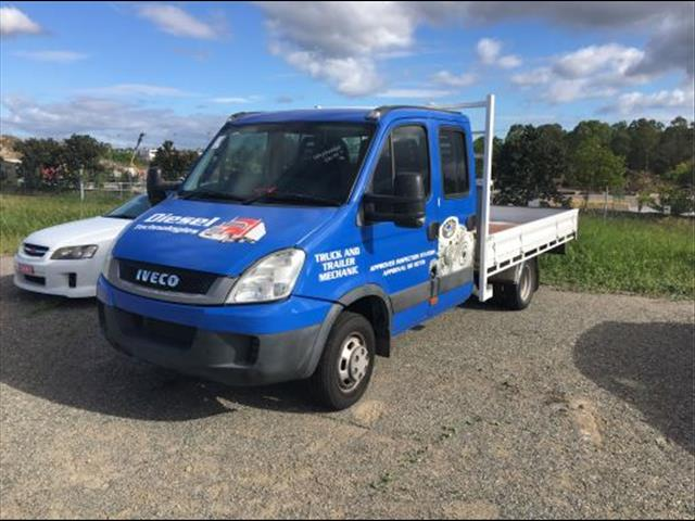 2010 IVECO DAILY 50C18 DUAL CAB MANUAL LOW KMS