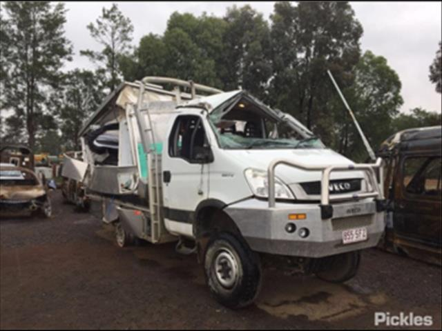 2014 IVECO DAILY 55S17W 4X4