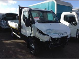2016 IVECO DAILY CAB CHASSIS AUTOMATIC 3.0LTR NEW SHAPE LOW 60KMS