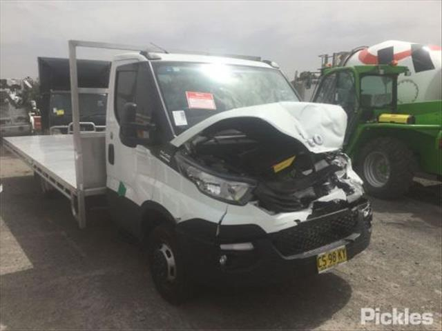 2019 IVECO DAILY 50C17 S/CAB TRAY