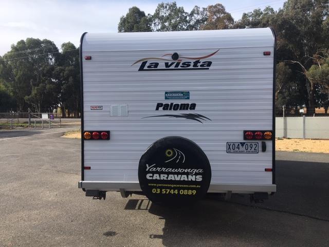 2015 LaVista Paloma 19'6 On Road Caravan