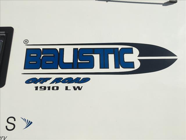 "2016 ELITE BALISTIC  FULL OFF ROAD CARAVAN 19'10"""