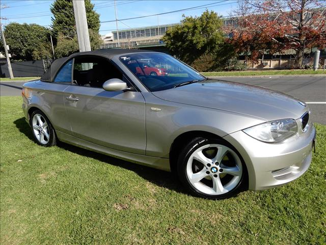 2008 BMW 1 SERIES 120i E88 CONVERTIBLE