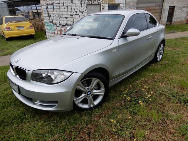 2009 BMW 1 SERIES 125i E82 COUPE