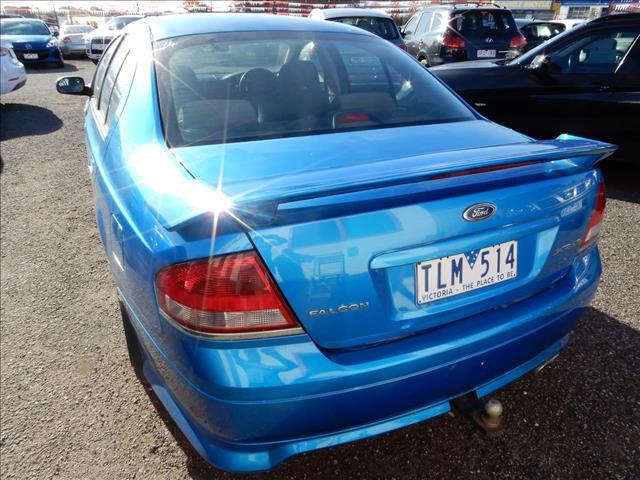 2003 FORD FALCON XR6 BA SEDAN