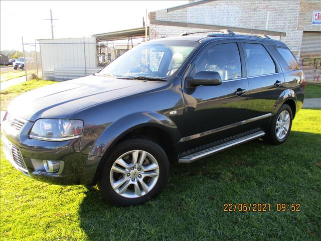2010 FORD TERRITORY TS Limited Edition SY MKII WAGON