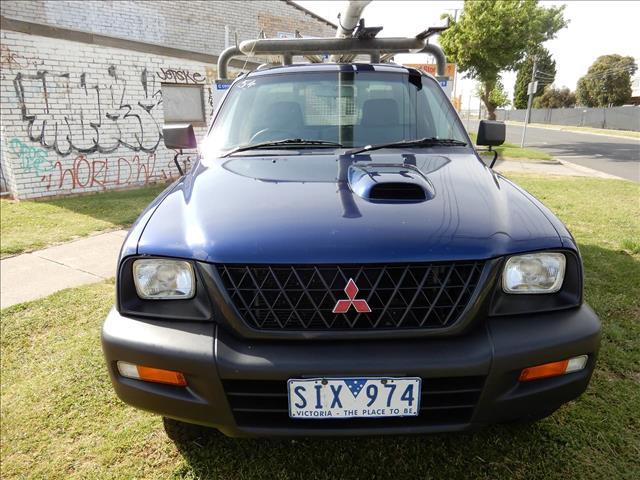 2003 MITSUBISHI TRITON GLX MK CAB CHASSIS