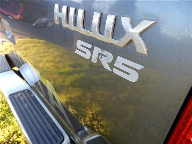 2008 TOYOTA HILUX SR5 GGN25R UTILITY