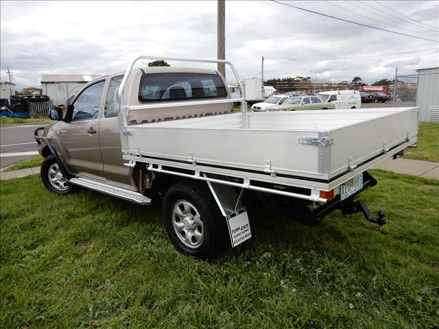 2005 TOYOTA HILUX SR KUN26R CAB CHASSIS
