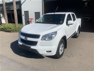 2014 HOLDEN COLORADO LX (4x2) RG MY14 CREW CAB P/UP