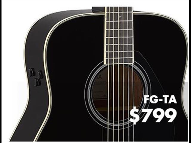 Yamaha FG-TA Trans Acoustic Guitar