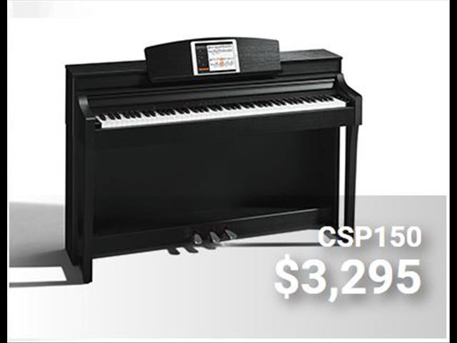 Yamaha Clavinova Digital Piano CSP 150 - Black