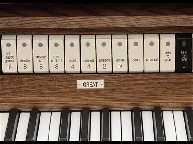 Allen Classic Organs CF-4 Two Manuals   27 Stops