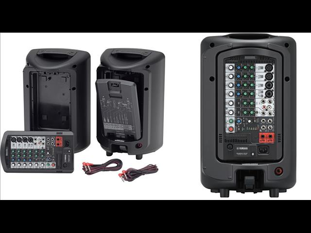 Yamaha Stagepas 400BT The Ultimate All-in-One Portable PA System