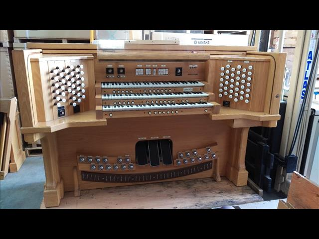 Organ For Sale >> Classical Organ Shell Three Manual 32 Note Ago Pedal Board