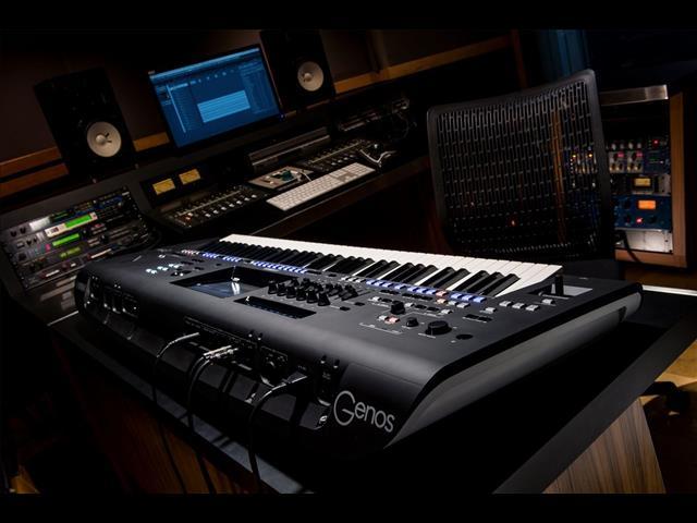 Yamaha Genos 76 Note Digital Workstation Keyboard