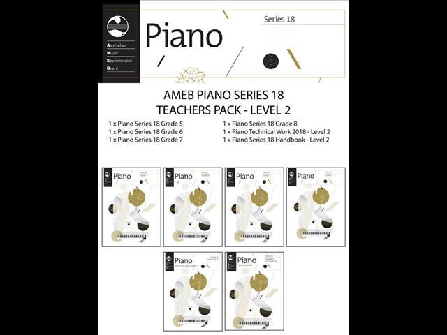 AMEB Piano Series 18 Grade Book - Grade 8