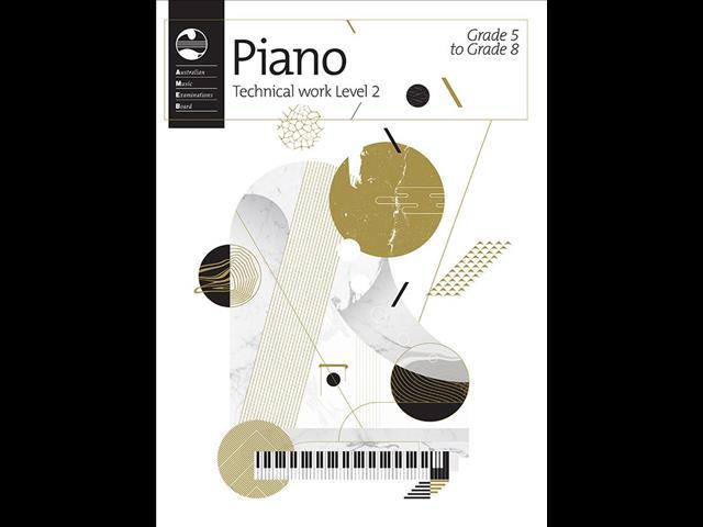 AMEB Piano Technical Work: Level 2 (Grade 5 to Grade 8) -2018