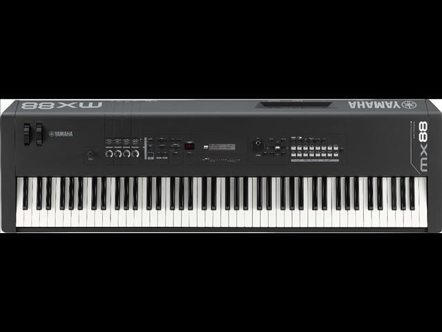 noten auf einem keyboard