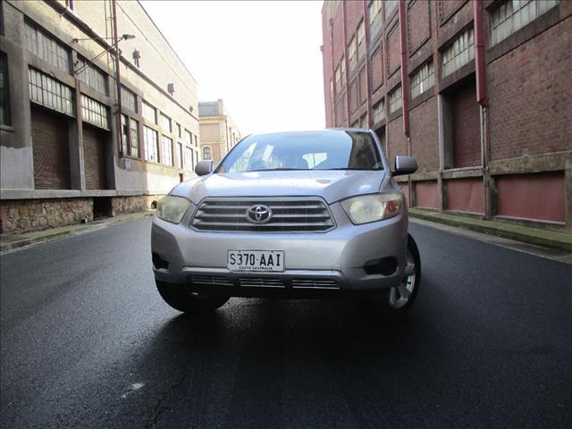 2008 TOYOTA KLUGER KX-R (4x4) 7 SEAT GSU45R 4D WAGON