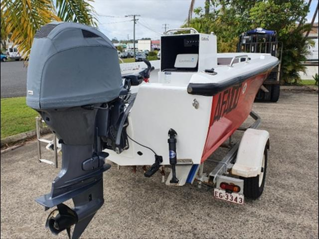 4.3M Nova w/ Yamaha F70 tiller steer
