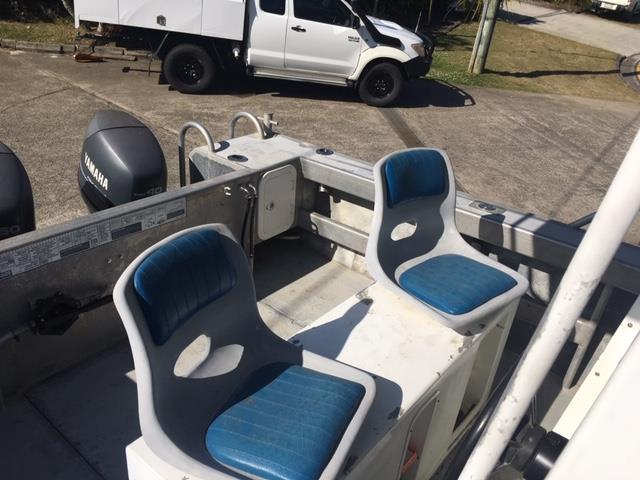 5 meter Plate Alloy Centre Console,