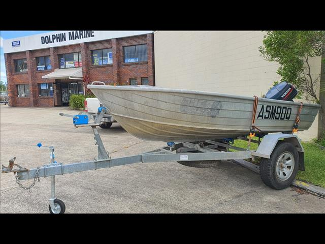 Quintrex 3.7m with 25HP Yamaha