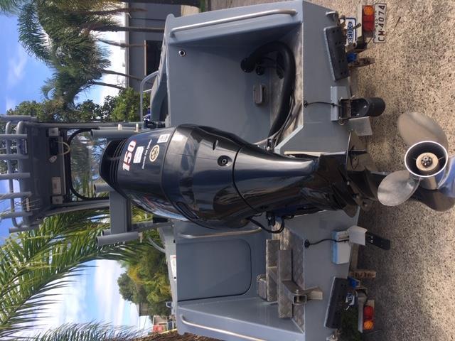 570 Ocean Fish Plate Centre Console Suzuki DF150