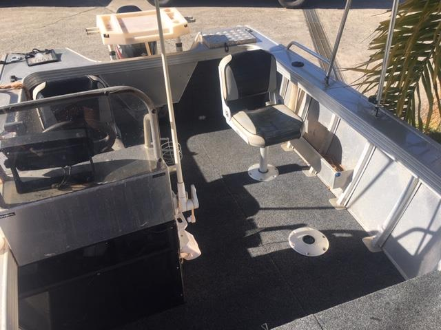 Clark 455 Abalone Side Console