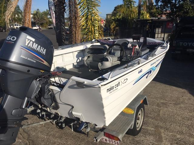 Makocraft 440 Estuary Tracker