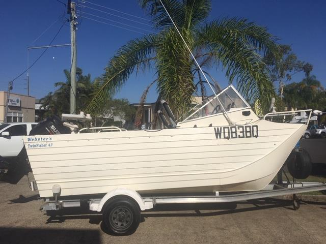 Websters 4.7m Twinfisher