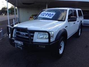 2007  FORD RANGER XL (4X4) PJ 07 UPGRADE DUAL CAB P/UP
