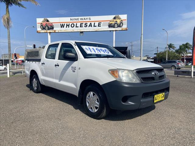 2007  TOYOTA HILUX WORKMATE TGN16R 06 UPGRADE DUAL CAB P/UP