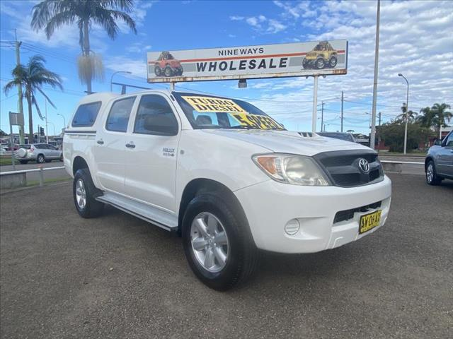 2008  TOYOTA HILUX SR (4X4) KUN26R 08 UPGRADE DUAL CAB P/UP