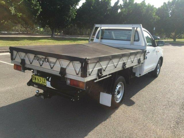 2013 Toyota Hilux Workmate KUN16R MY12 Cab Chassis