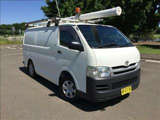 09852bd930ac60 2007 Toyota Hiace LWB TRH201R MY07 Upgrade Van for sale in Homebush West