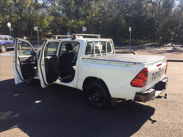 2016 TOYOTA HILUX WORKMATE TGN121R DUAL CAB UTILITY