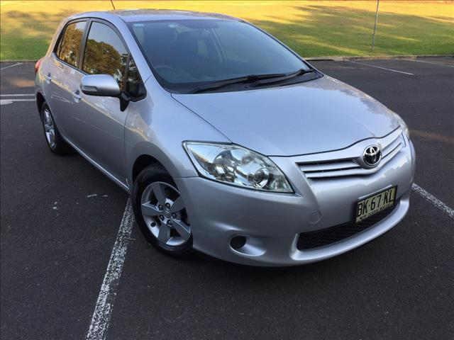 2011 TOYOTA COROLLA ASCENT ZRE152R MY11 5D HATCHBACK