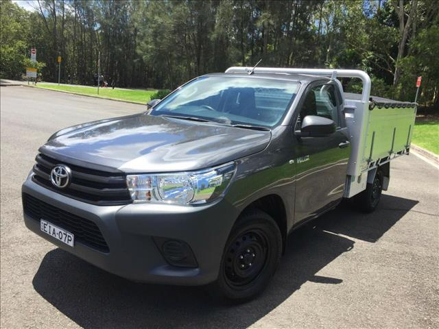 2018 Toyota Hilux Workmate