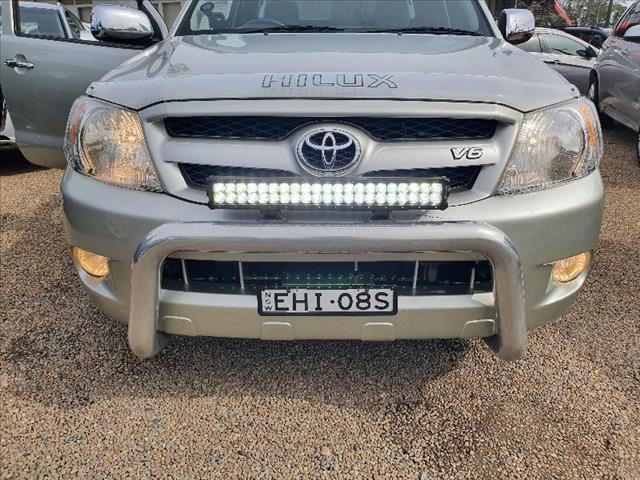2007  Toyota Hilux SR5 GGN15R Utility