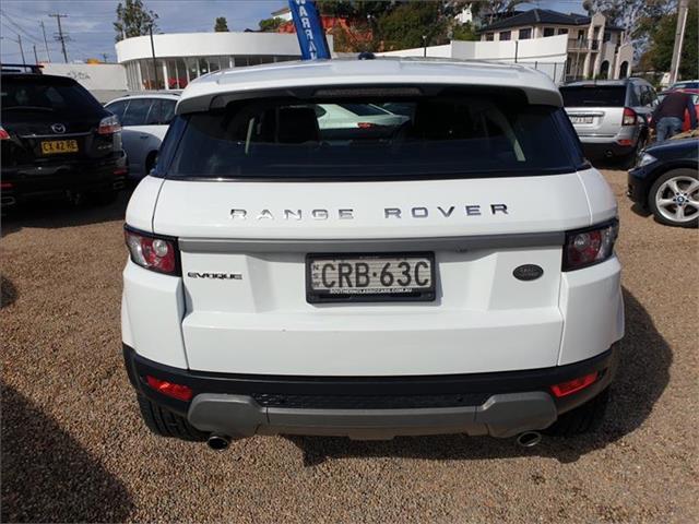 2013  Land Rover Range Rover Evoque SD4 L538 Wagon