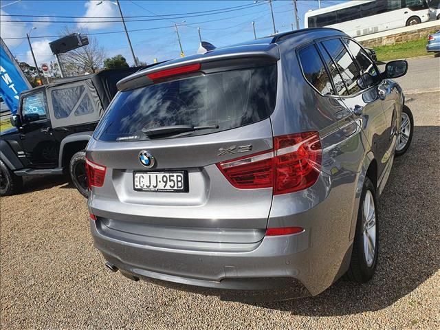 2012  BMW X3 xDrive20d F25 Wagon